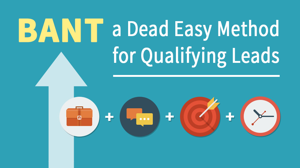 BANT - A dead easy way to qualify leads