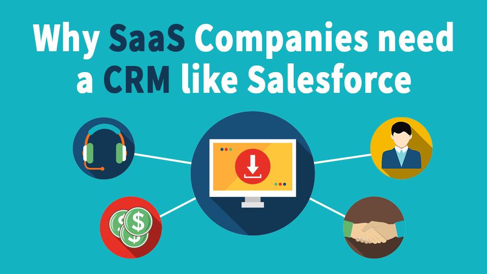 Why Your SaaS company needs a CRM like Salesforce