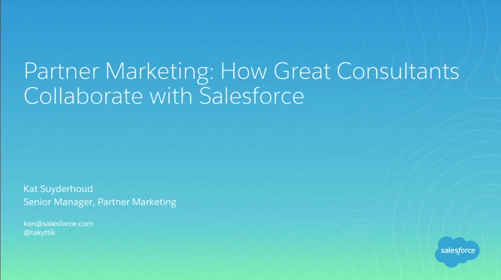 How Great Consultants Collaborate With Salesforce