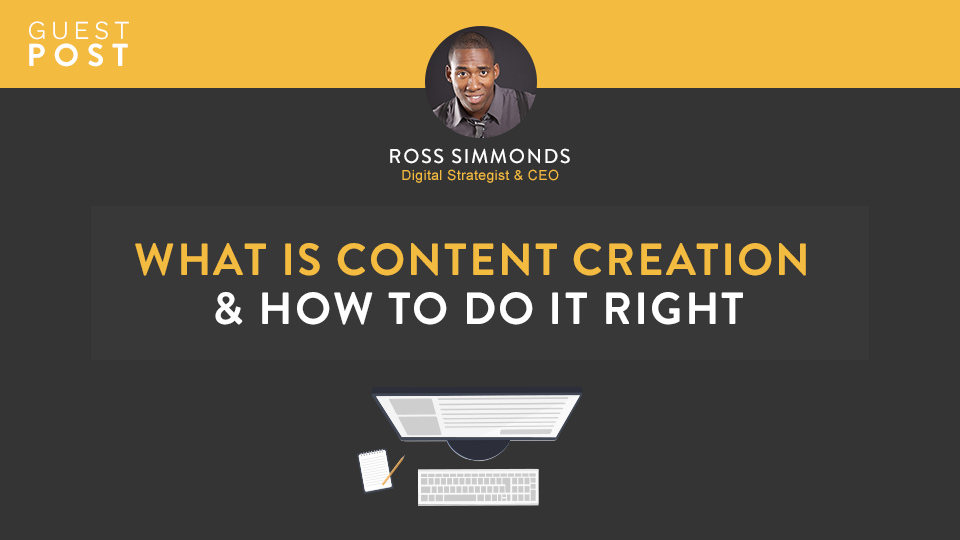 What's Content Creation And How To Do It Right