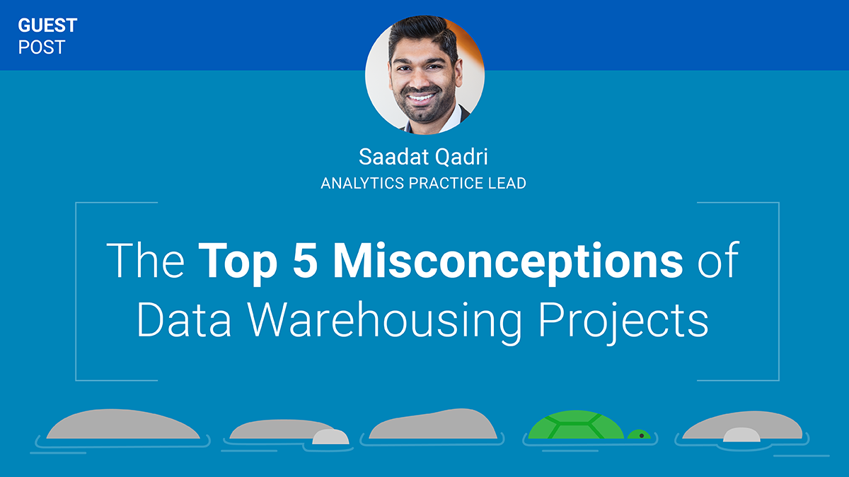 Top Five Misconceptions of Data Warehousing Projects