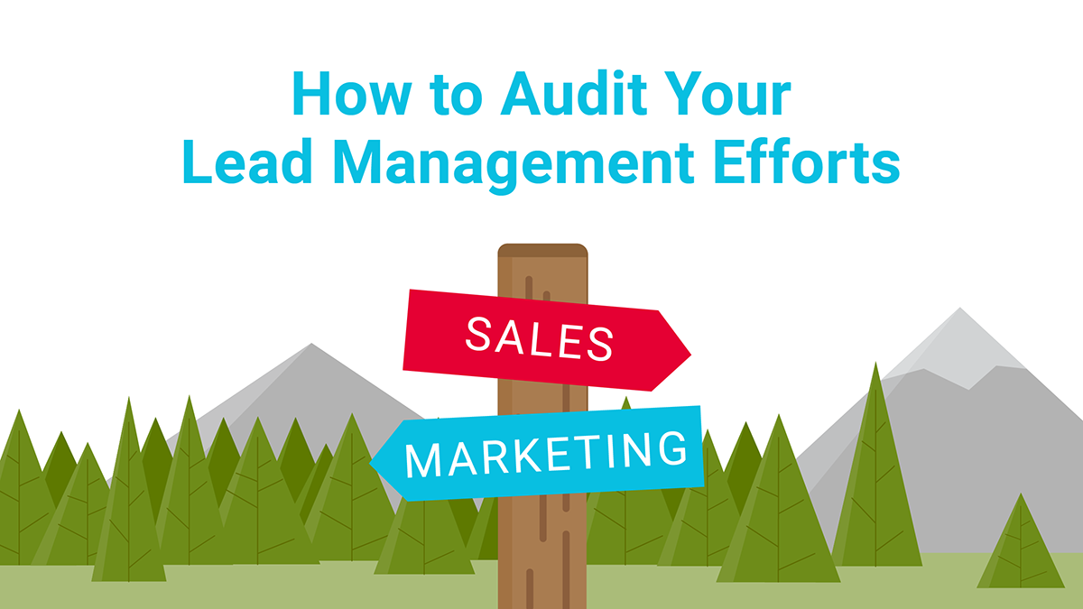 How to Audit your Lead Management Efforts