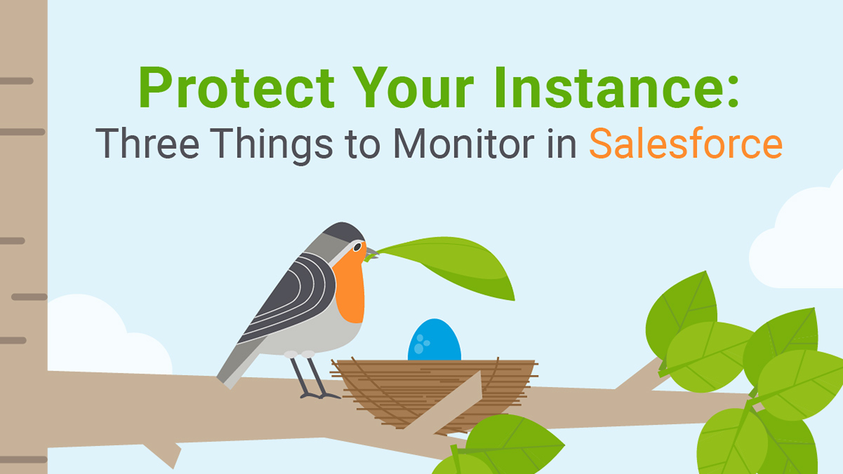 Protect your Instance: Three Things to Monitor in Salesforce