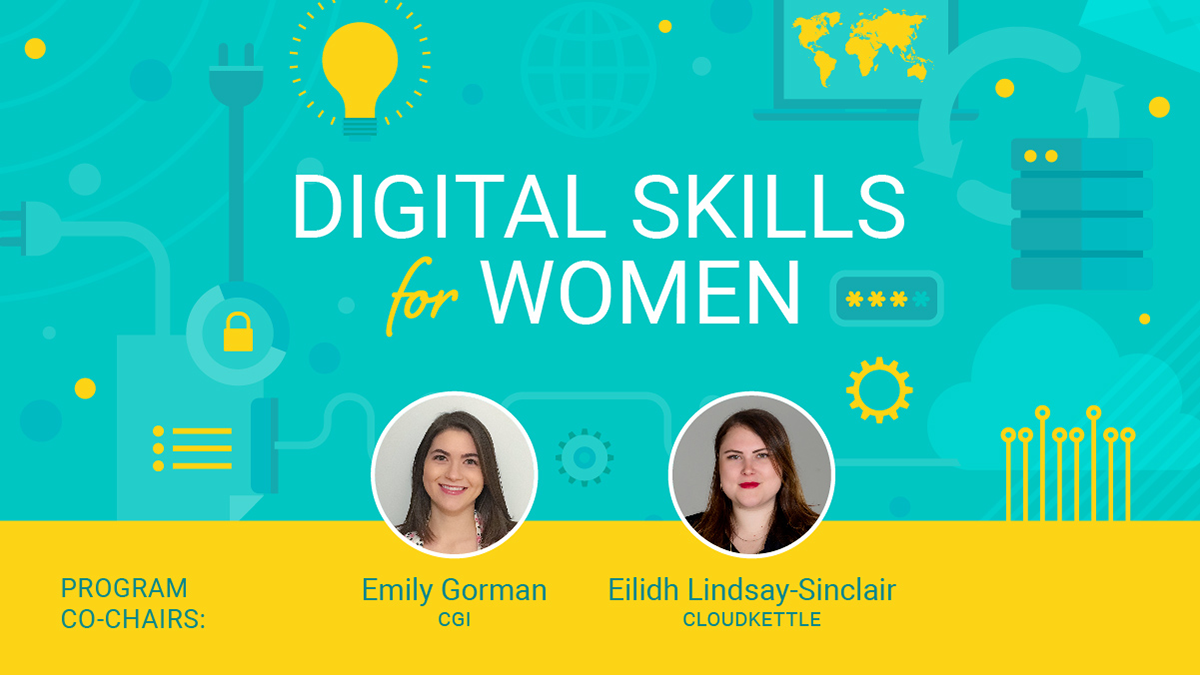 Digital Skills for Women meet the 2019 co-chairs