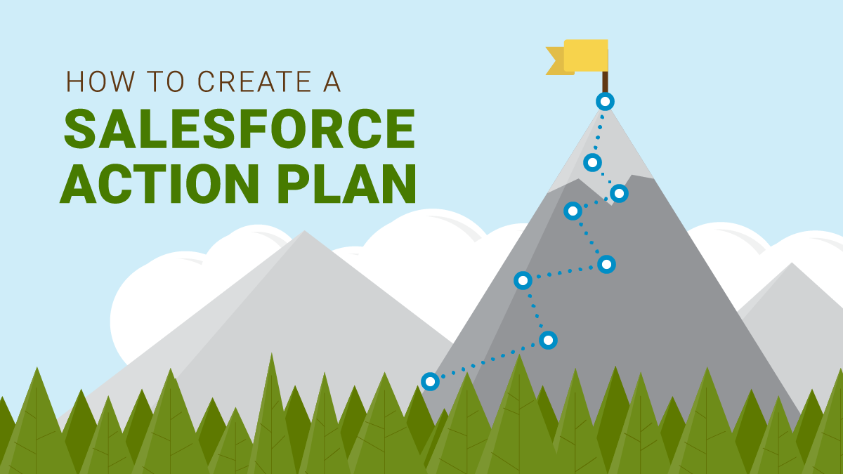 How to create a Salesforce action plan