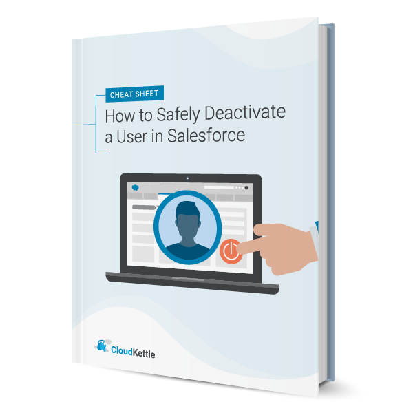 how to deactivate a user in salesforce