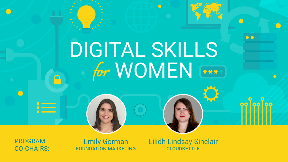 Digital Skills for Women meet the co-chairs
