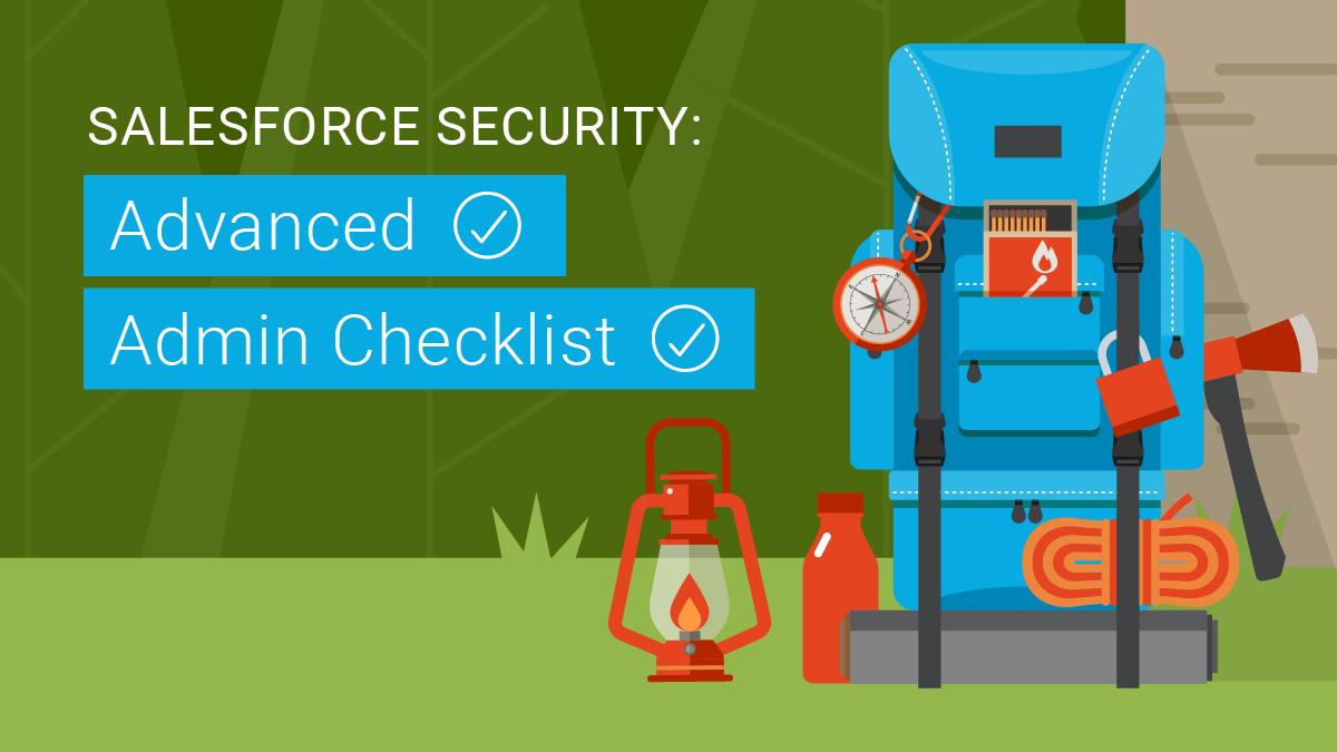 Advanced Salesforce Checklist
