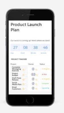 Quip product launch plan in mobile