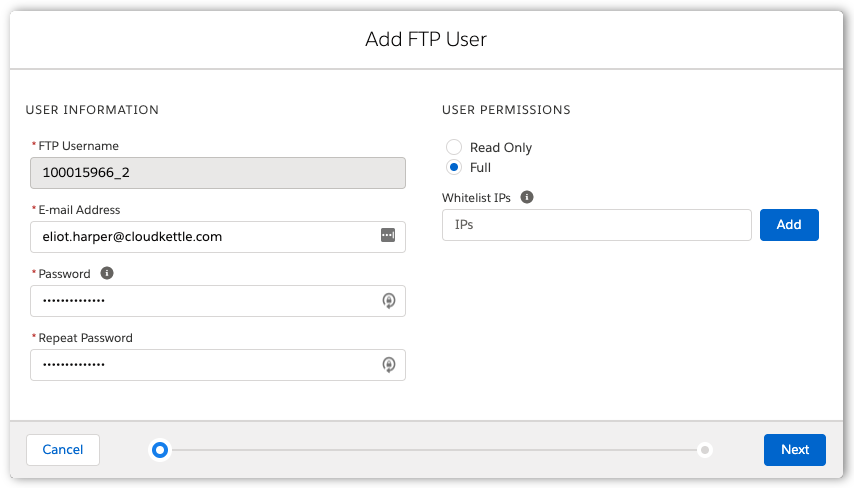 Adding-an-SFTP-User-in-Marketing-Cloud