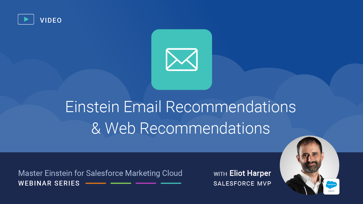 Einstein Email and Web Recommendations for Salesforce Marketing Cloud