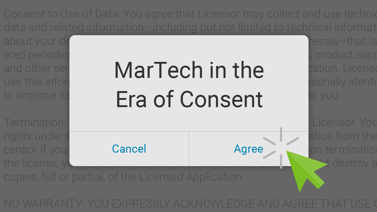 MarTech in the Era of Consent