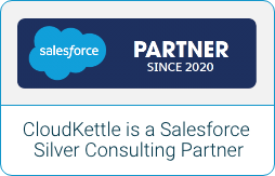 CloudKettle is a Salesforce Silver Consulting Partner