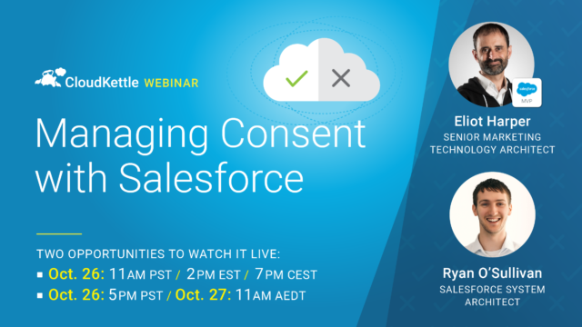 Managing Consent with Salesforce Webinar