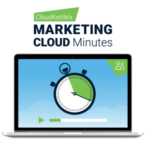 Marketing Cloud Minutes