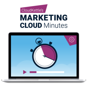 User Productivity Tips in Salesforce Marketing Cloud