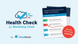 Health Check for Salesforce Marketing Cloud
