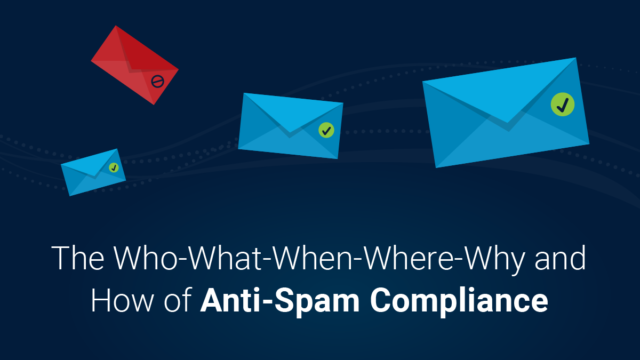 The W5 (and How) of Anti-Spam Compliance