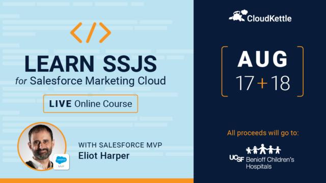 Learn SSJS from Eliot Harper
