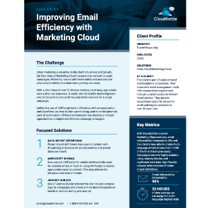 Cloud Kettle Case Study on Email Efficiency