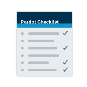 Pardot Checklist graphic