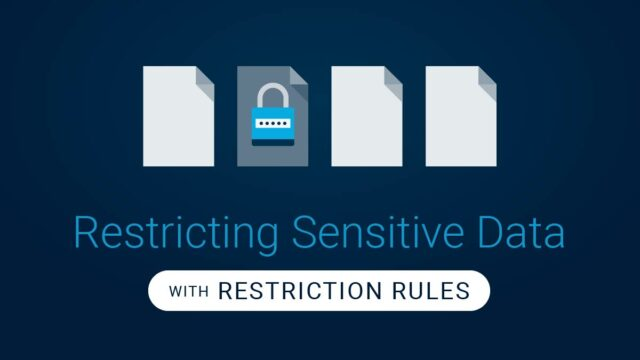 Restriction Rules in Salesforce