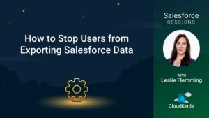 Salesforce Sessions with Leslie Flemming